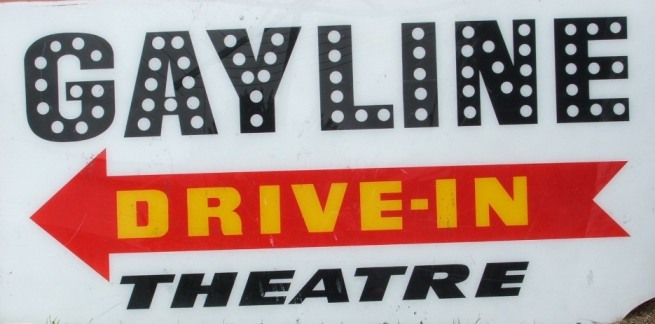 Gayline Drive-In Signage at Narellan (I Willis)