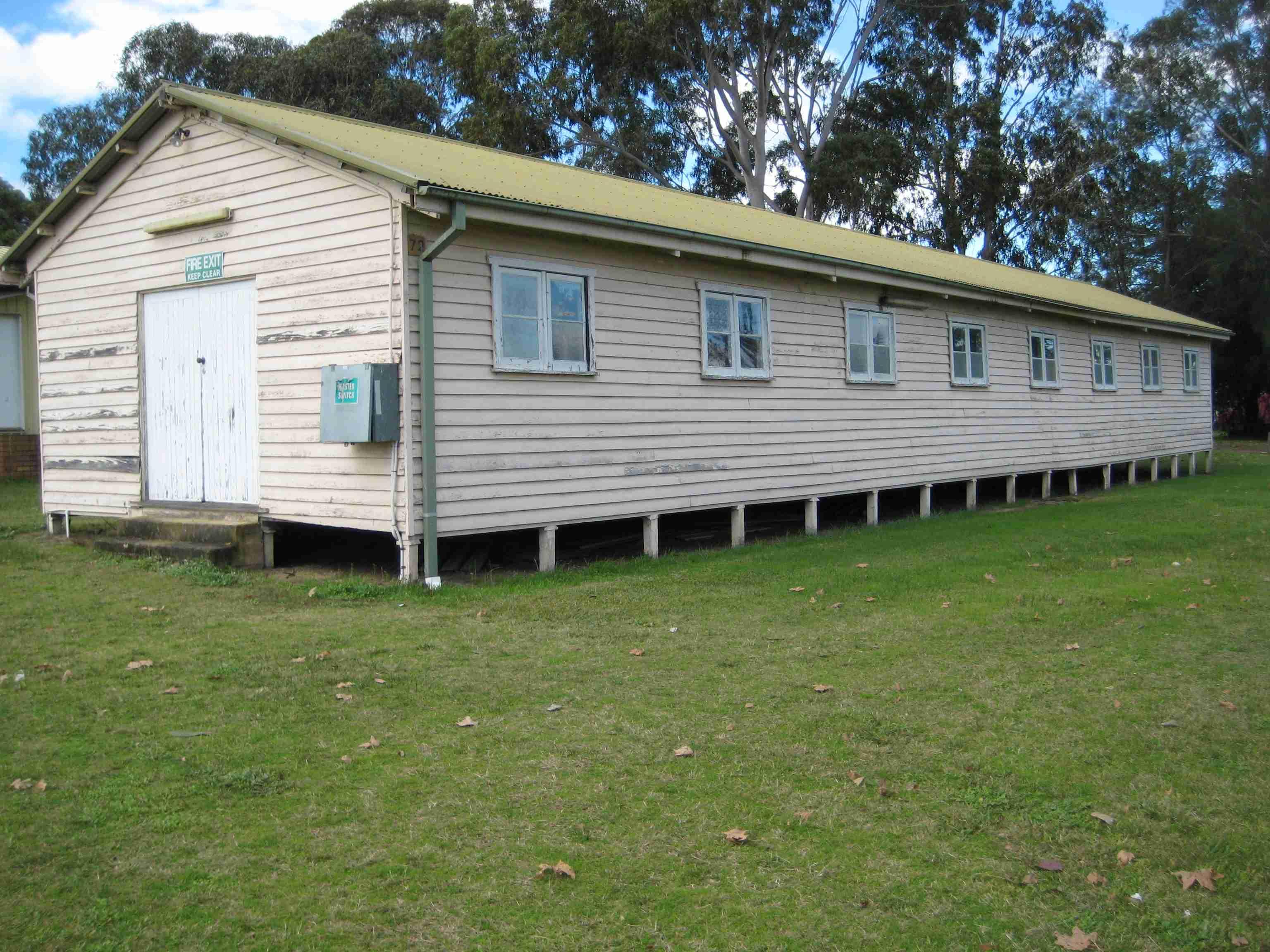 Camden Airfield Hut No 72