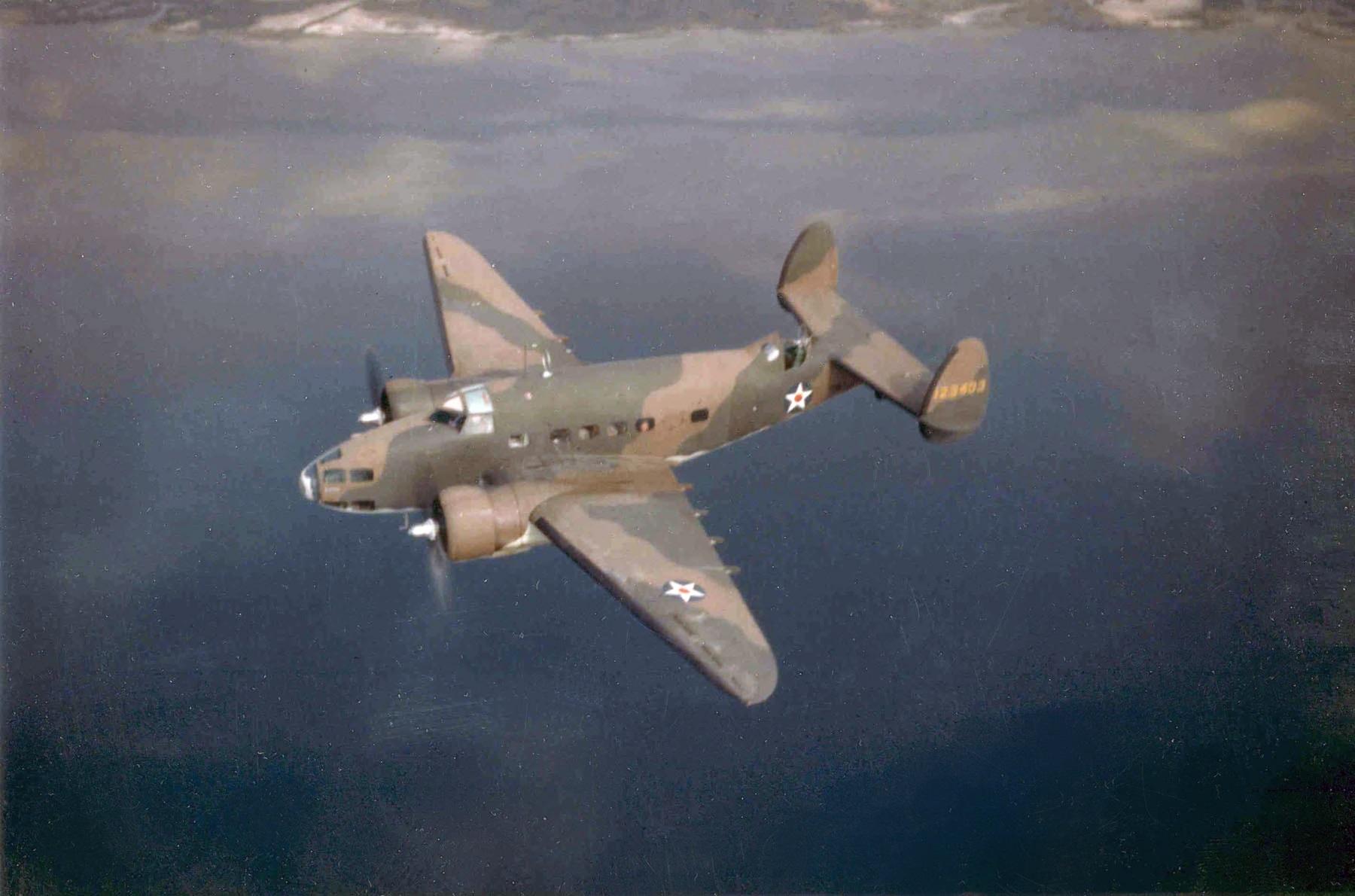 Camden Airfield Lockheed_A-29_Hudson_USAAF_in_flight_c1941