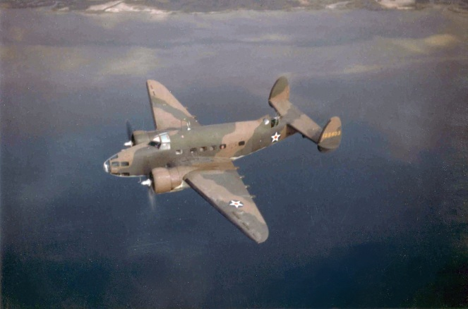 Camden Airfield Lockheed_A-29_Hudson_USAAF_in_flight_c1941