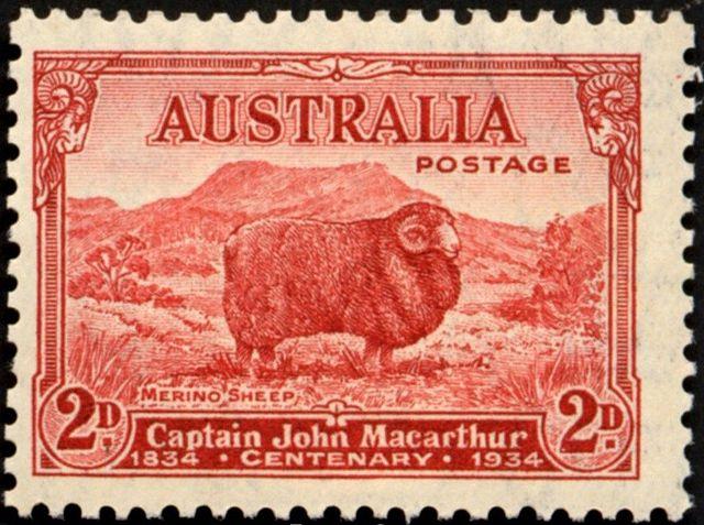 1934 Australian Commemorative Postage Stamp