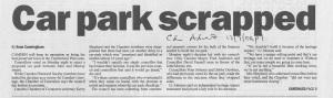 Camden Advertiser 12 July 2006 p.1