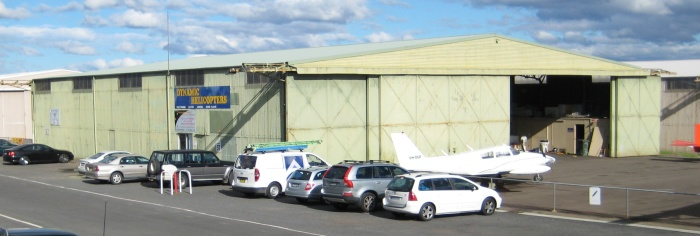 Bellman Hangar at Camden Airfield 1941 (I Willis)