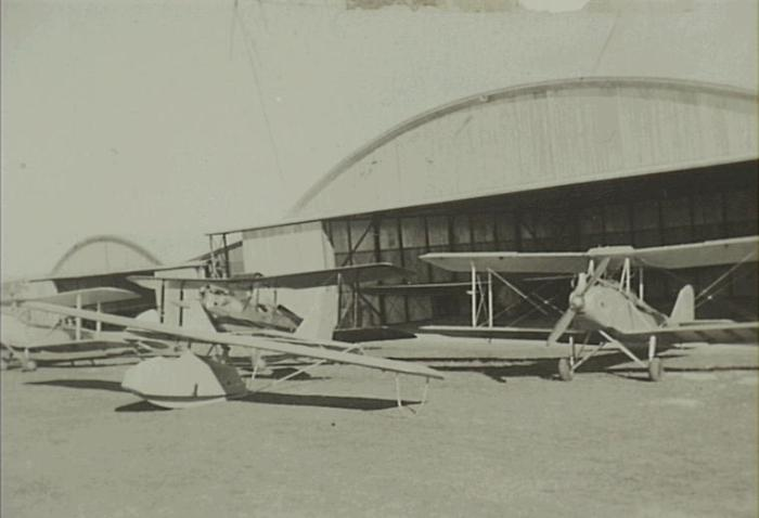 Macquarie Grove Airfield 1930s Camden (Camden Images)