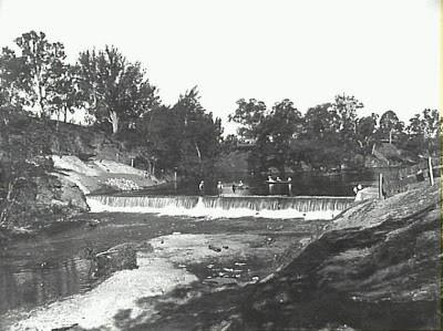 Camden Weir 1917
