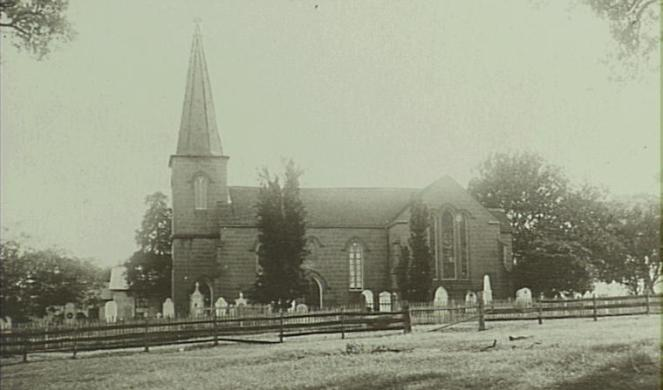 Cobbity's St Paul's Anglican Church 1910 (Camden Images)