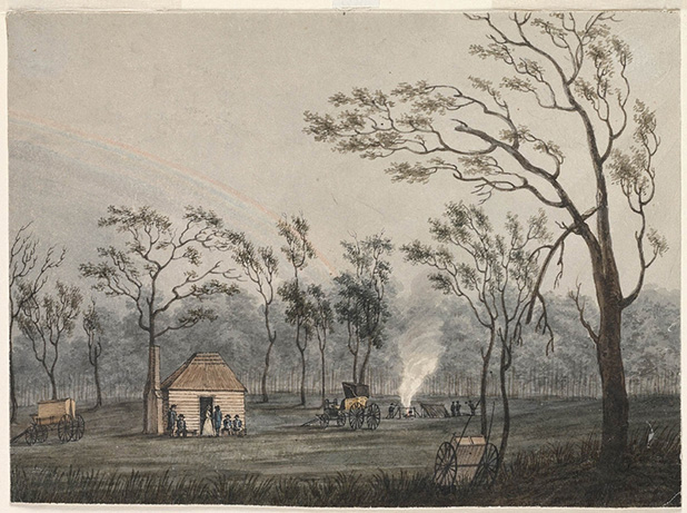 View-of-the-Government-Hut-at-Cowpastures