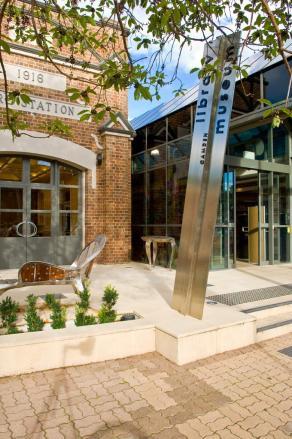 Camden Library Museum in John Street Camden 2016 (I Willis)