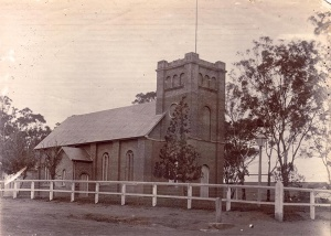 St Peters Anglican Church Campbelltown 1823 (Campbtn Lib)