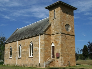 St Bede's Roman Catholic Church (1841) - the oldest Catholic church on mainland Australia.