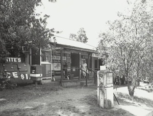 The Cobbitty General Store operated by Mr Small during the WW2. This image is 1995 John Kooyman (Camden Images)