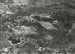 Aerial View Narellan Military Camp c.1941 (Camden Images CHS)