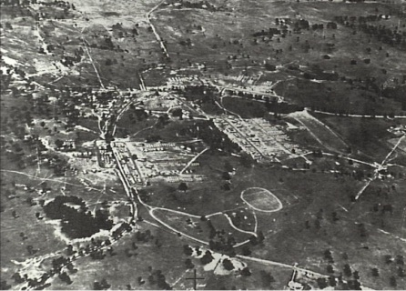 Aerial View Narellan Military Camp c.1941 (Camden Images CHS)