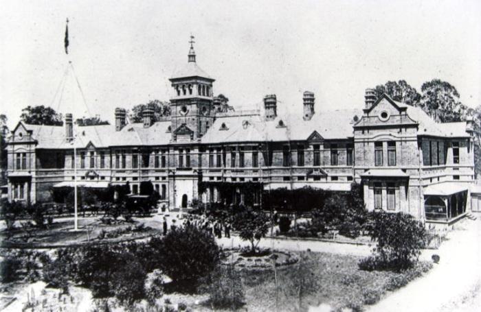 Carrington Convalescent Hospital c1890s Camden Images