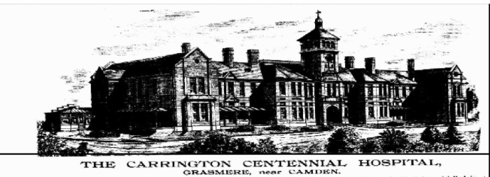 Carrington Convalescent Hospital Illustrated Sydney News 1889