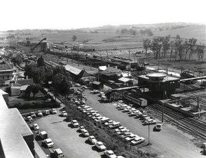 Campbelltown Railway Station Crossing 1960s (Supplied)