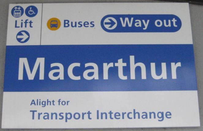 Macarthur Signage