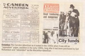 Macarthur Advertiser 1958