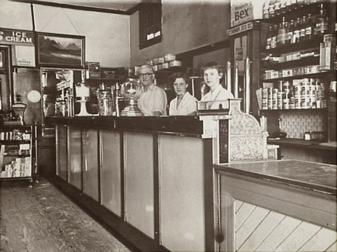 Howlett's Cafe and Milk Bar, Camden, 1954 (Camden Images)