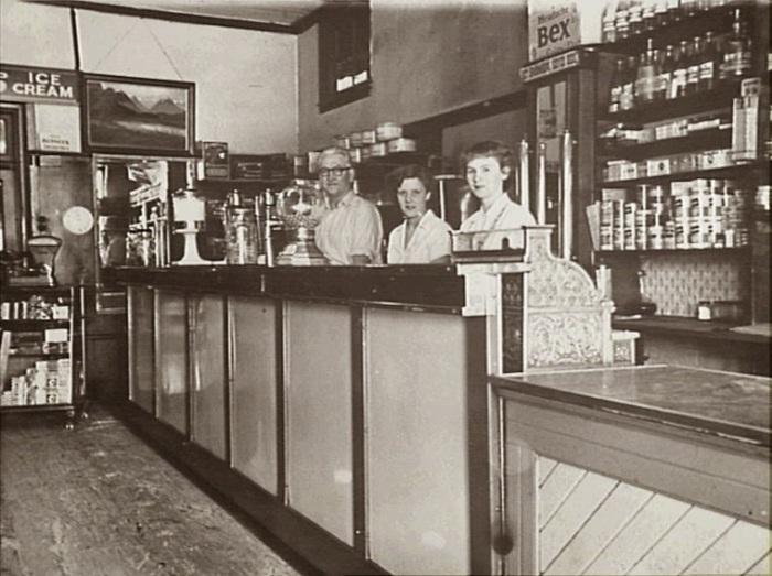 Howlett's Cafe and Milk Bar, Camden, 1954 (Camden Images)