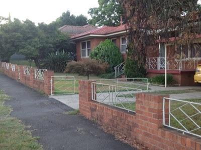 Wrought iron work, Macarthur Road Elderslie NSW 1960s (I Willis 2010)