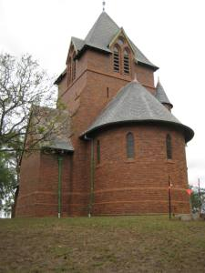 St James Anglican Church Menangle a Horbury Hunt design build 1876 (I Willis)