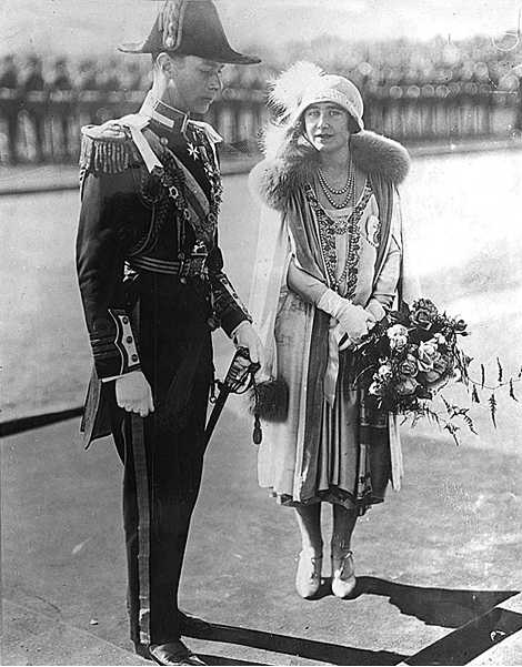 The Duke and Duchess of York Opening Provisional Parliament House Canberra 1927 (NLA)