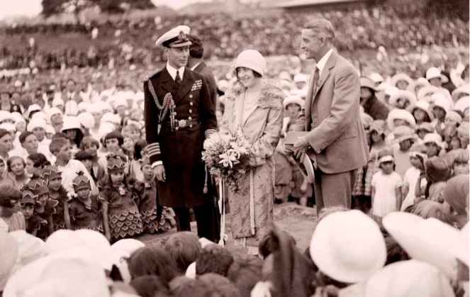 The Duke and Duchess of York Sydney 1927 (NLA)