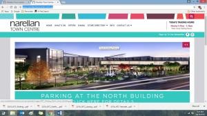 Screenshot Narellan Town Centre Plaza and Extension 2016 (http://www.narellantowncentre.com.au/)