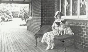 Verandah of The Engadine Mrs D Cuthell (The History Buff)