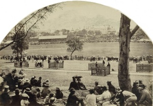 All England Cricket Match Freeman Bros 1862 SLNSW