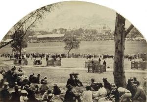 All England Cricket Match Freeman Bros 1862 SLNSW