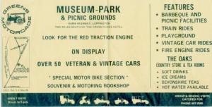 Greens Motorcade Museum Leppington Flyer 1970s (R Sanderson)