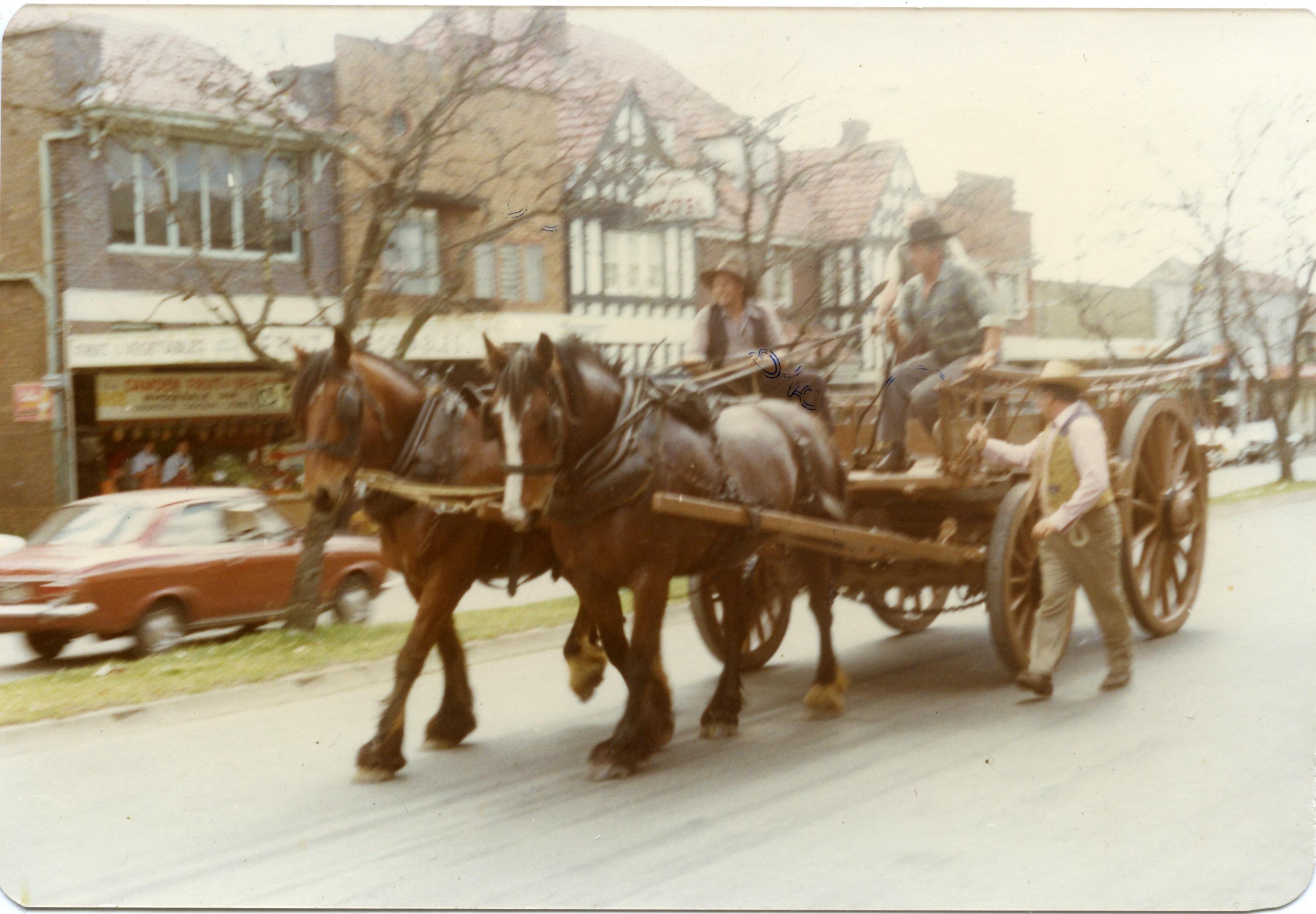 Camden HS Teamsters Wagon