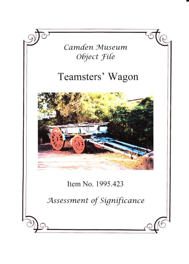 Camden HS Wagon SoS Cover