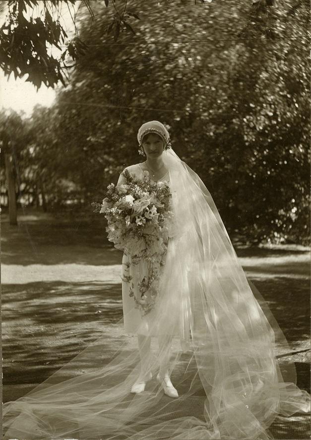 Wedding 1928 McIntosh Alice McIntosh Denbigh CIPP lowres
