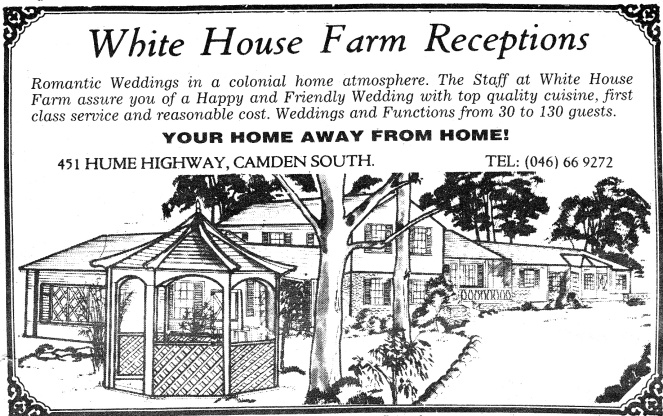 White House Farm MacAdvert6June1990