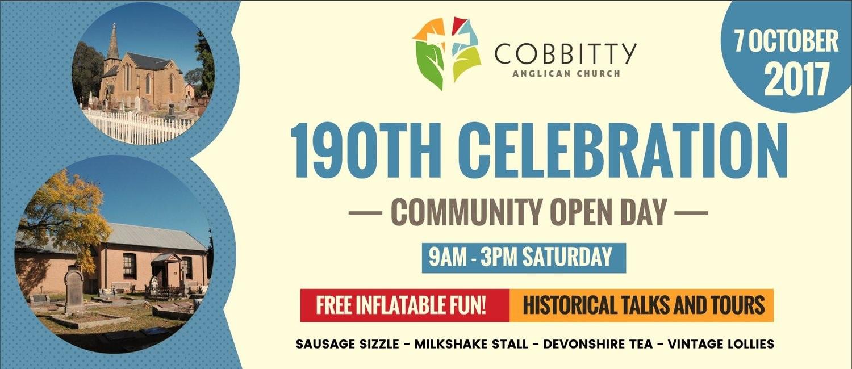 Cobbitty Ch 190 Anniv 2017