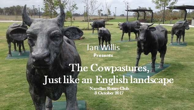 Presentation The Cowpastures 2017Oct3