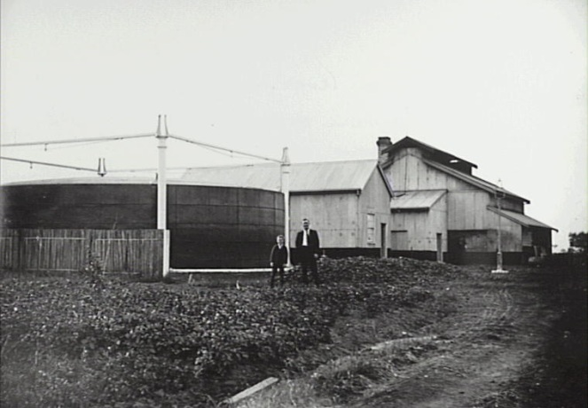 Camden Gasworks 1900s CIPP