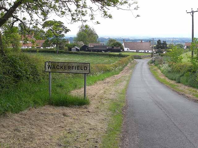 England Wackerfield hamlet signage ODixon 2009