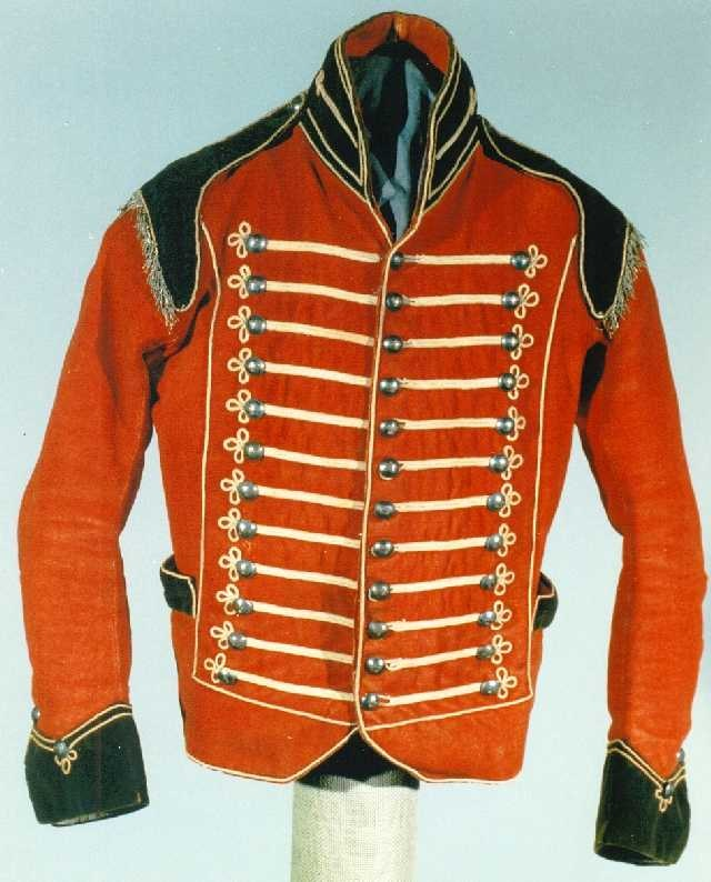 Officers Jacket Staindrop Cavalry 1798-1815 DLI