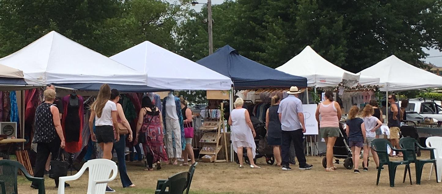 Camden Argyle Affair stalls outside 2017 MWillis