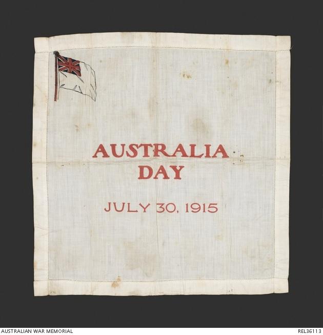 Aust Day 1915 WW1 AWM