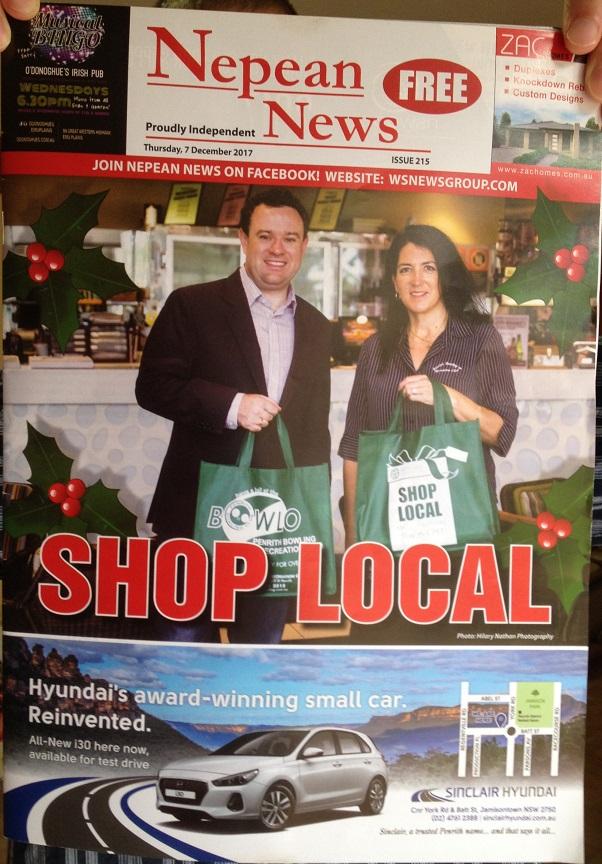 Nepean News 7 Dec 2017 Cover
