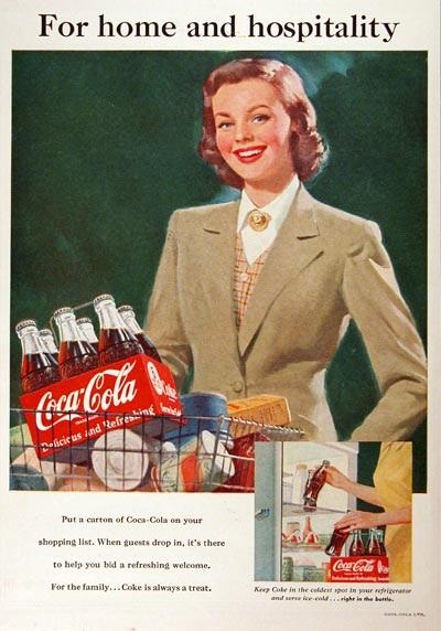 Retail CocaCola Promo 1951