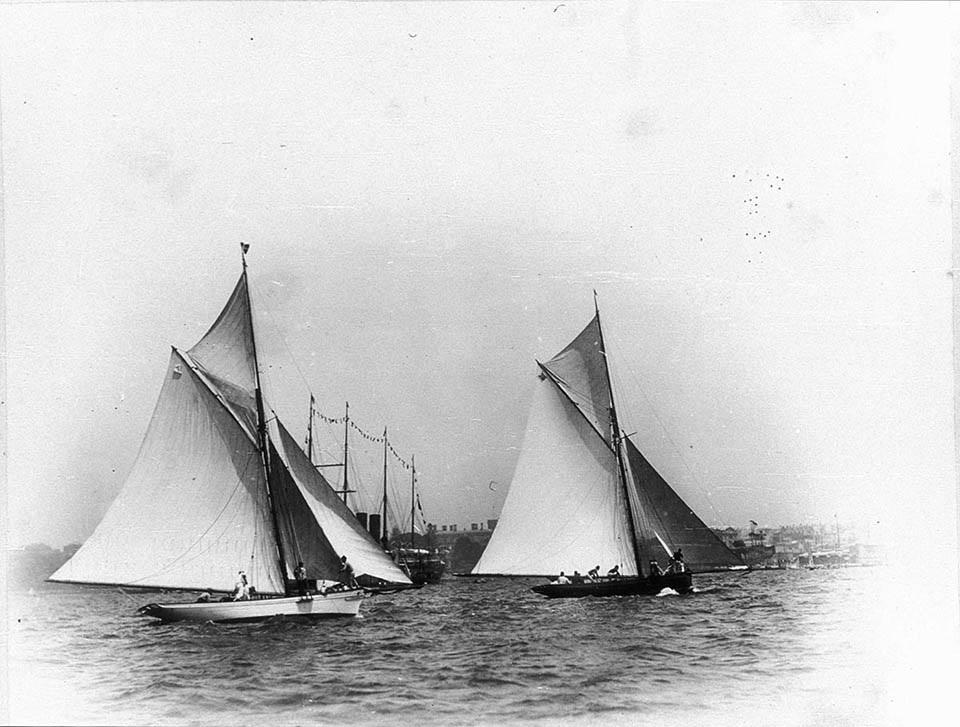 Sydney Anniversary Regatta 26thJan 1889 SLNSW