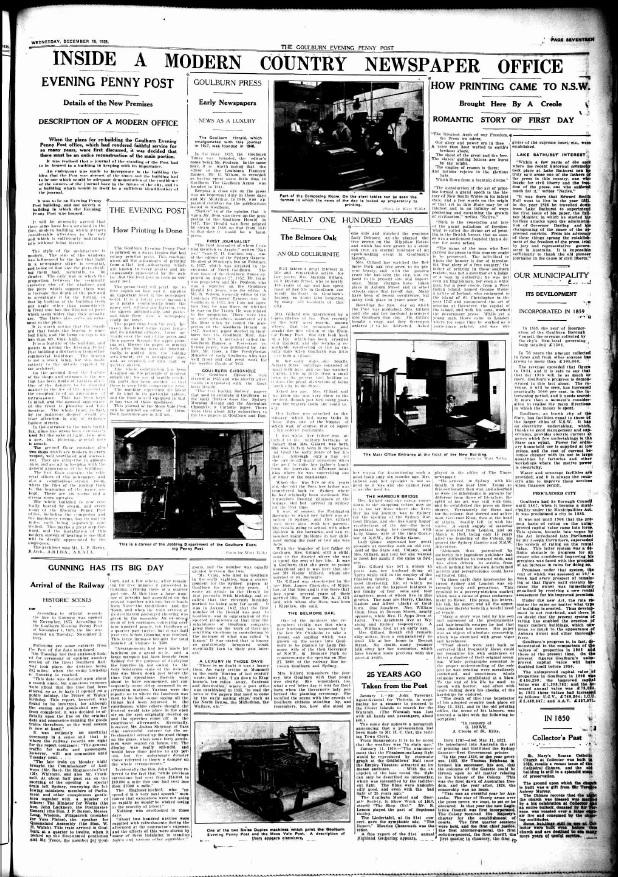 Goulburn Penny Post 1935 Dec128