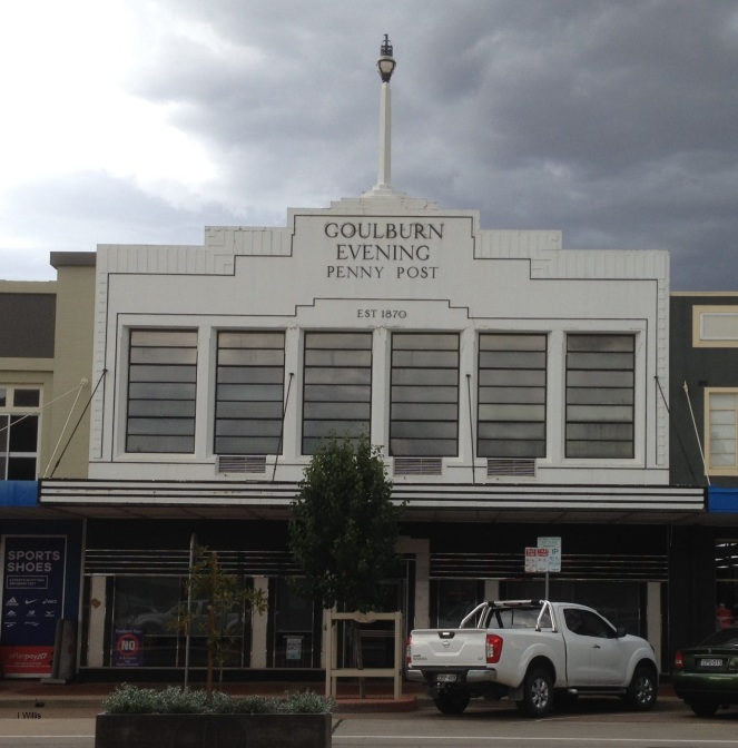 Goulburn Post newspaper Office 1935 lowres