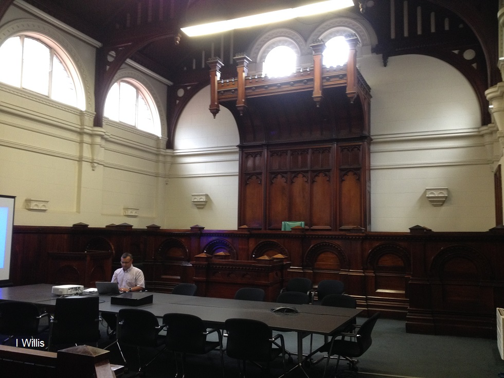 UHPH Conf 2018 Magistrates Court Room RMIT
